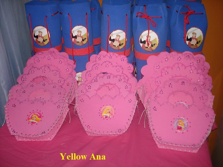 El Rincon de Yellow Ana: Mas cositas de la fiesta