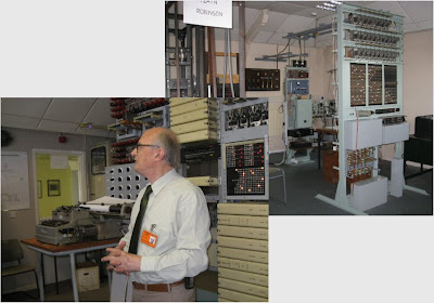 Valves, lights, buttons, electric circuits and Tony Sale