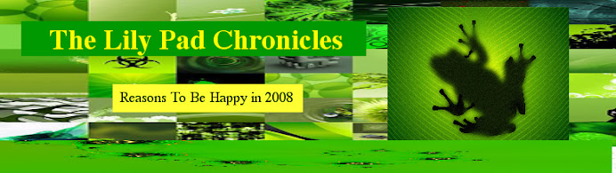 The Lilypad Chronicles -- Dedicated to Happiness