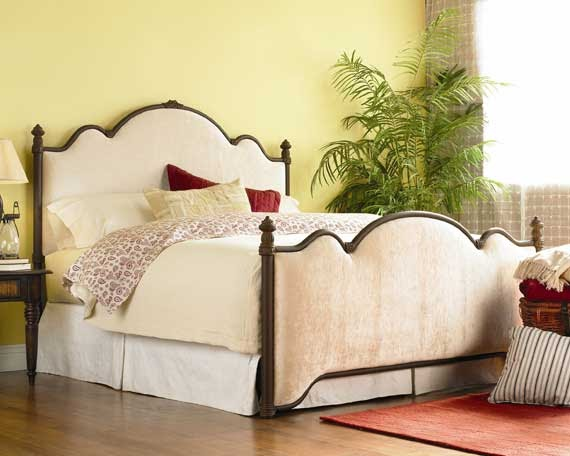 southern living preppy style upholstered headboards