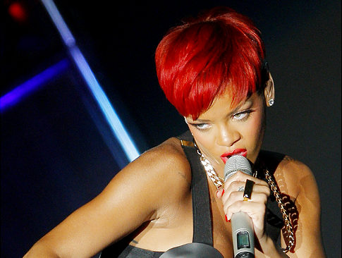 rihanna hair red short. Styling short hair doesn#39;t