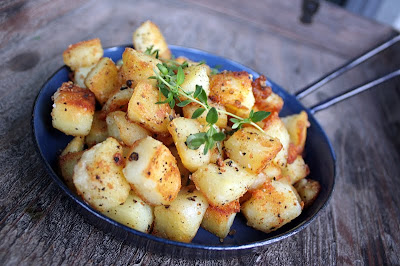 Oppskrift Forslag Tapas Hjemmelaget Vegetartapas Vegan Stekte Poteter