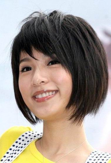 Asian Hairstyle Round Face