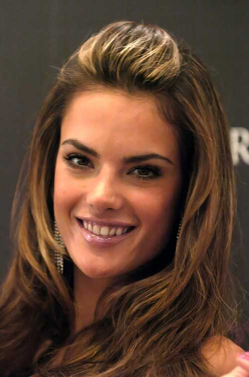 Brown hair highlights ideas alessandra ambrosio hair color alessandra ambrosio hair color pmusecretfo Gallery