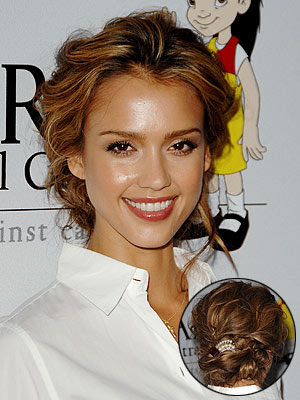 celebrity updo hairstyles 2011. Curly Updo Hairstyles