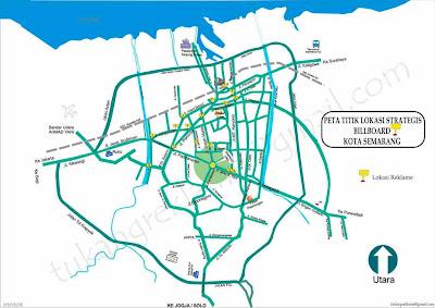 Peta Kota Semarang Indonesia
