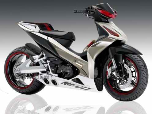 Gambar Modivikasi Motor   Foto  Modivikasi Motor Honda New