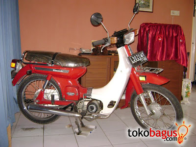 Binter Kawasaki Joy 85 cc 1983 Antik