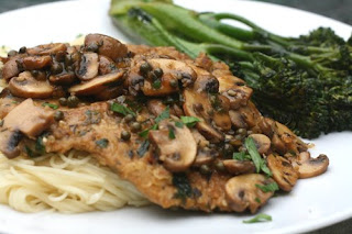 Food network friday chickeny scallopini with capers and lemon chicken scallopini with capers and lemon forumfinder Images