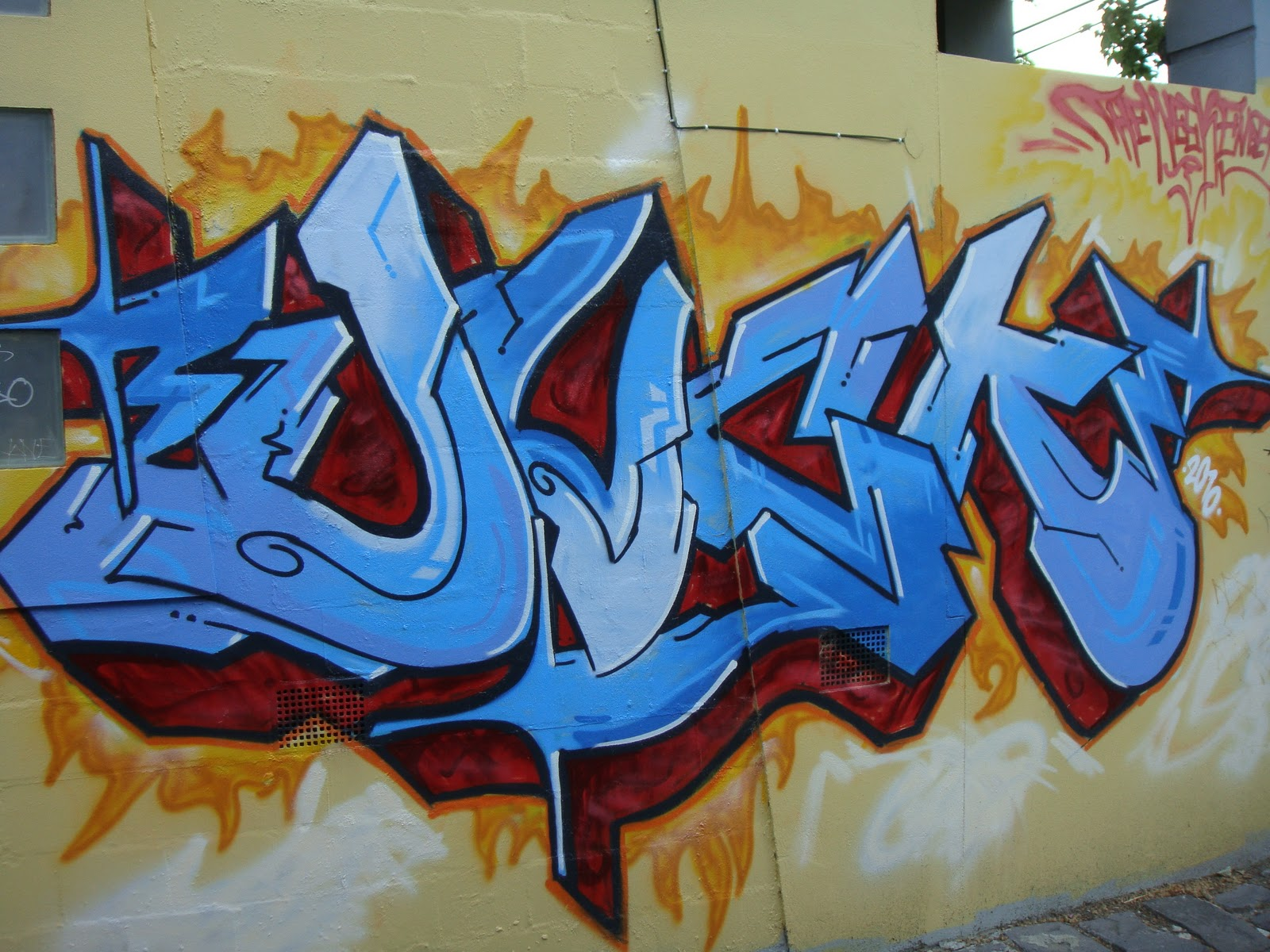 Deansunshine landofsunshine melbourne street art graffiti wildstyle