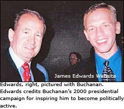 Pat Buchanan James Edwards