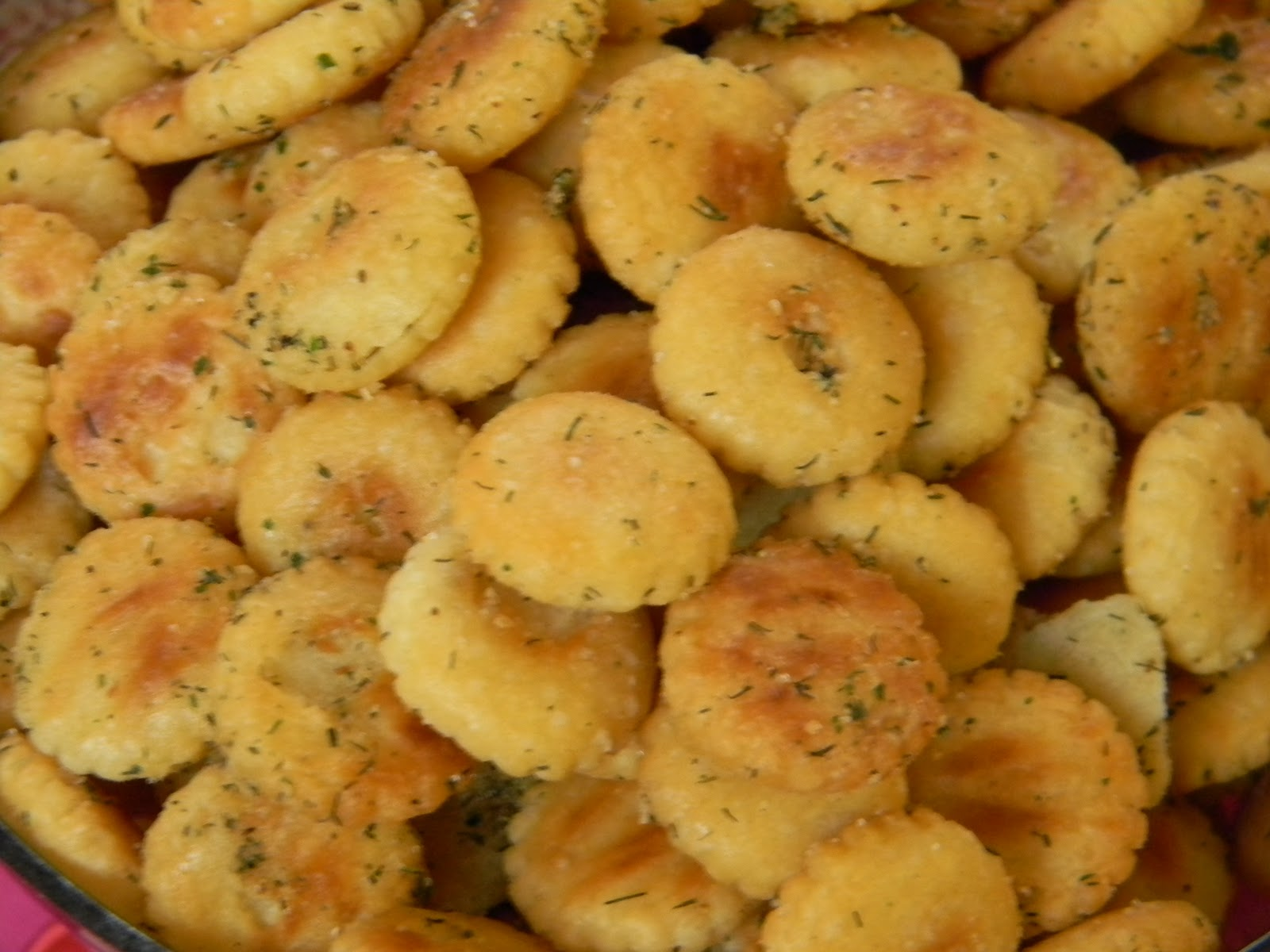 Musing potpourri dilly oyster crackers