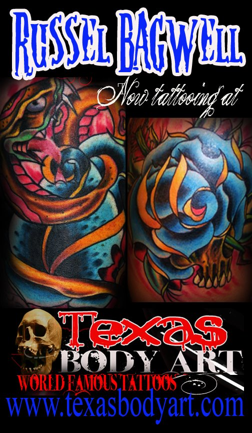 Award winning tattoo artists in houston texas for Tattoo parlors in houston