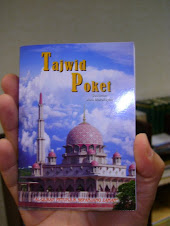 Poket Tajwid RM 5.00