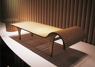 All Of These Furniture Are Designed By Shigeru Ban, An Japanese Designer.  He Use Paper Tubes As Structural Elements And His Subsequent Experiments  Using ...