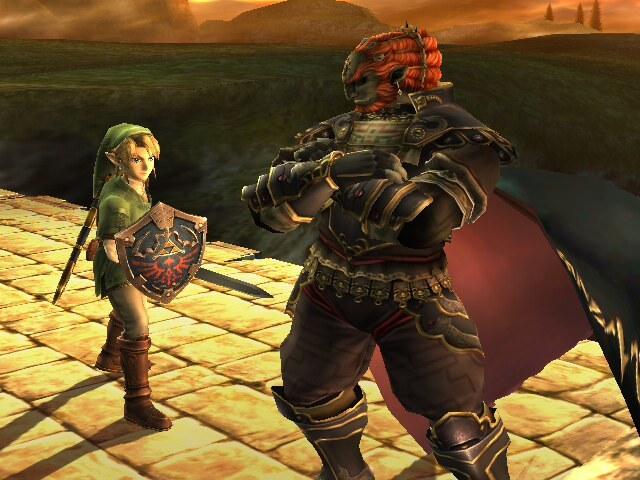 Ganon y Link
