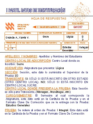 Hoja De Respuestas De Examen De Categoria 2013 | Consejos De
