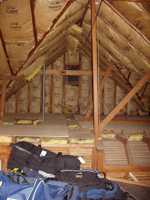 When we first looked at this circa-1939 house, the attic was just a big,  raw space. The previous owner had put in windows and skylights in the hope  of ...