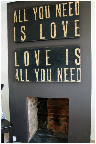 "pics of love signs. Cool Stuff: ""All You Need is Love"" Signs"