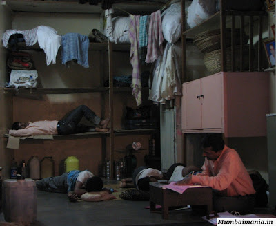 sellers sleeping in their shops at flower market