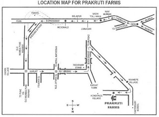 Map of Prakruti farms