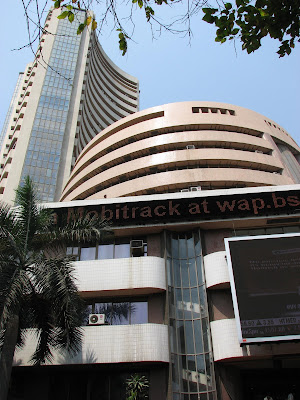 Bombay Stock Exchange at Dalal Street - Mumbai Mania