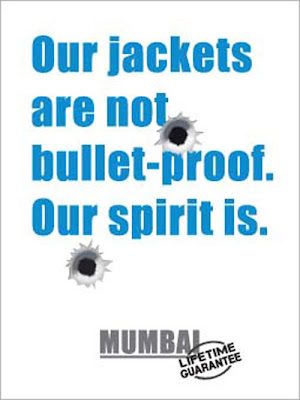 JWT ad bullet proof spirit of Mumbai