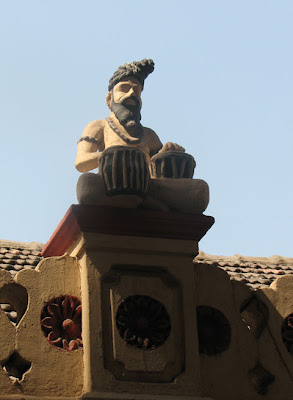 Statue of a Sadhu in a Hindu temple