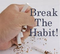 Break the habit of smoking when you stressed