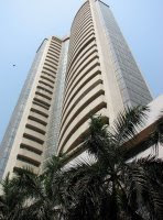 Bombay Stock exchange at Dalal Street