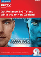 Big TV Avatar Promotion Offer, scratch and win free trip