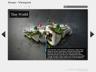 viewport blogger theme