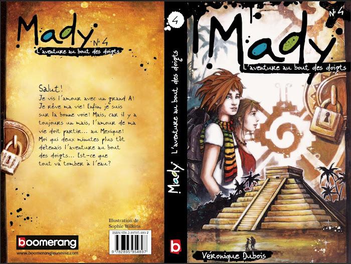 Mady Tome 4 - L'aventure au bout des doigts - Dès le 24 janvier 2011