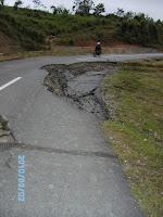 Jalan di Kandi terban