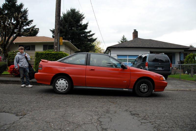 Hyundai Scoupe 1991. 1993 Hyundai Scoupe Turbo.