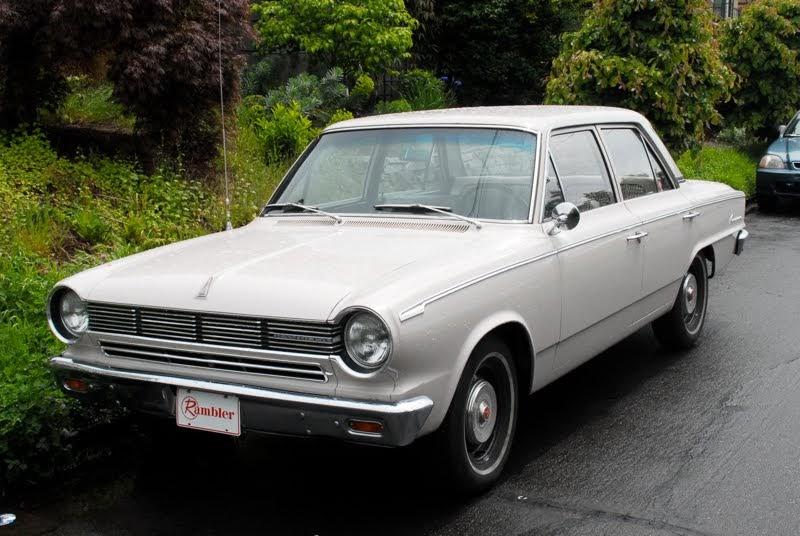 old parked cars 1965 rambler american 330. Black Bedroom Furniture Sets. Home Design Ideas
