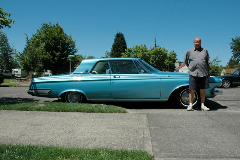 1963 Dodge Polara 500 and Bob.