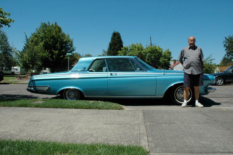 1963 Dodge Polara 500 and Bob.