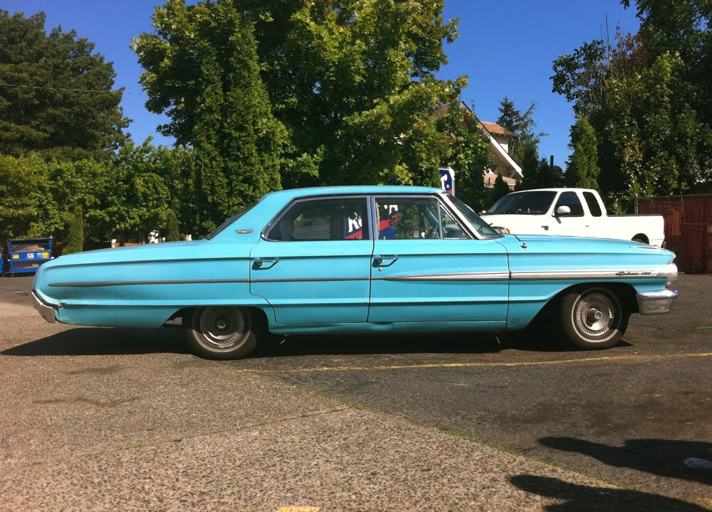 old parked cars 1964 ford galaxie 500. Cars Review. Best American Auto & Cars Review