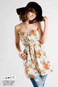 H708229#花样抹胸上衣—橙色. 预购价RM24. 折扣价RM21