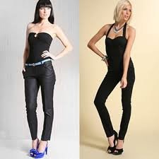 Sexy Sleek Looking Skin Tight Jeans
