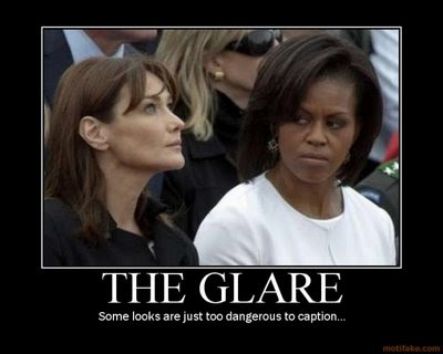 Michelle obama has a hatefull face
