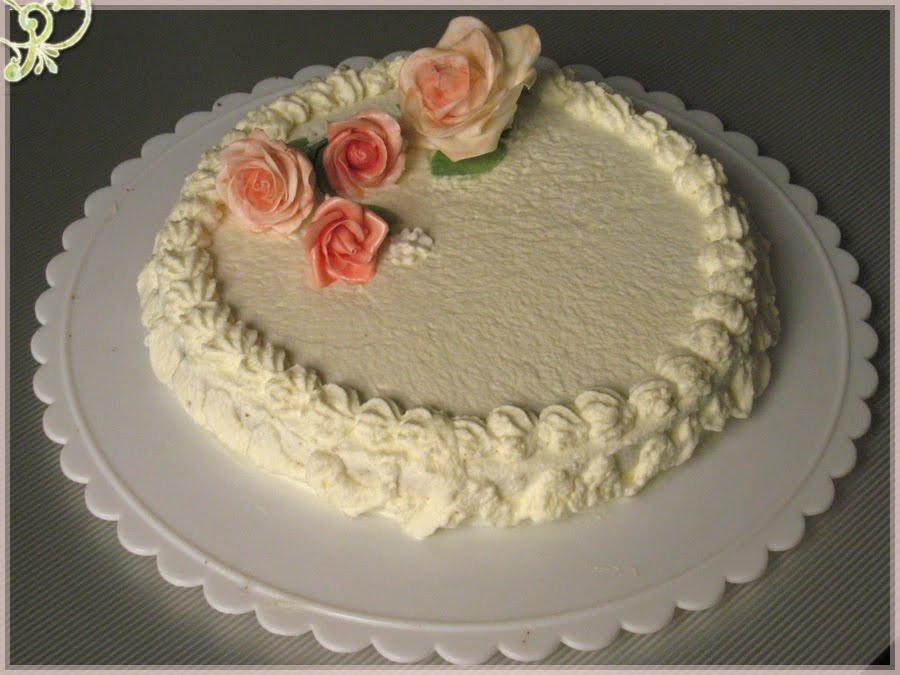 Bloggoloso torta con rose nuziali esperimento for Piani di fattoria di un livello