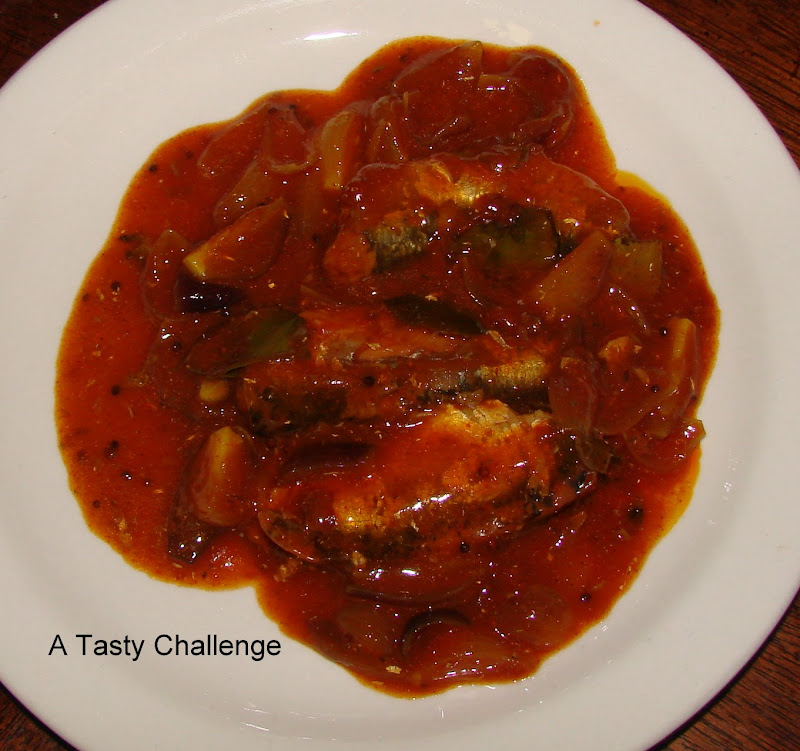 Canned Sardines Curry