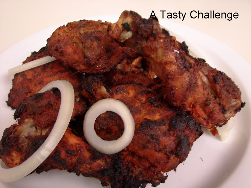 Broiled Chicken (In Thandoori Style Marinade)