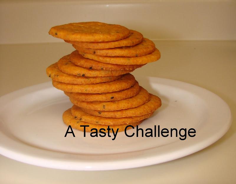Masala Cheese Crackers