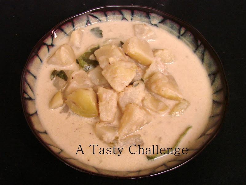 White Potato Curry