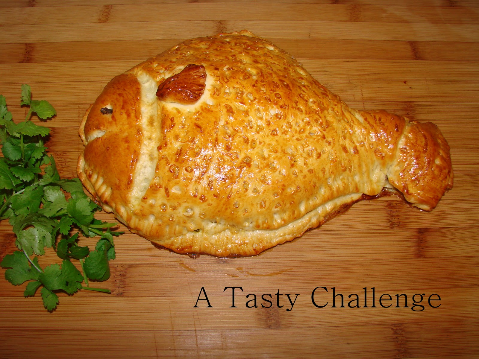 A tasty challenge fish in fish fish shaped bread for How to bread fish
