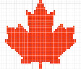 Maple Leaf Knitting Pattern : KNIT MAPLE LEAF PATTERN 1000 Free Patterns