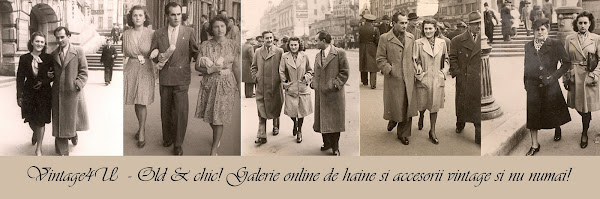 Vintage 4 U  - Galerie online de haine si accesorii vintage si nu numai!